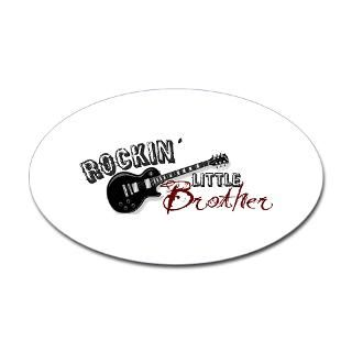 Rockin Little Brother (2009) Oval Decal for $4.25