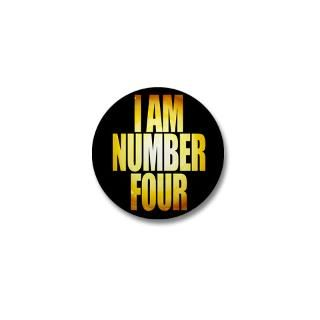 Am Number Four Button  I Am Number Four Buttons, Pins, & Badges