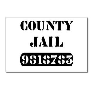 Jail Inmate Number 9818783 Postcards (Package of 8 for $9.50