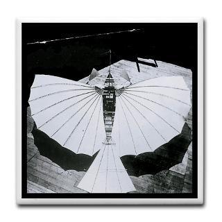 Flying Machine Mug Coaster  Gustave Whiteheads Flying Machines