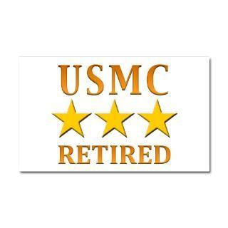 Marine Corps Car Accessories  USMC Retired Car Magnet 20 x 12