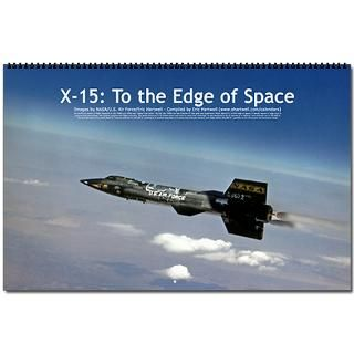 Air Force Gifts  Air Force Calendars  X 15 Wall Calendar