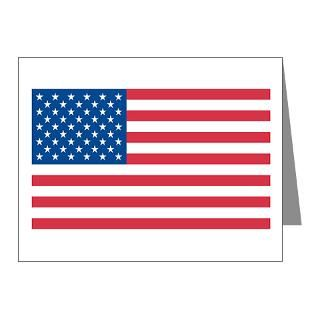 99 Gifts  5.99 Note Cards  AMERICAN FLAG Note Cards (Pk of 20)