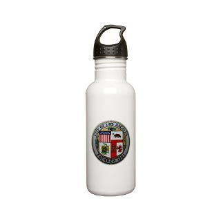 The official seal of the City of Los Angeles on t shirts, coffee mugs