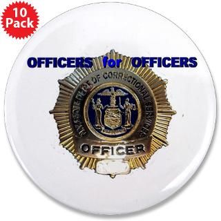 Badge Gifts > Badge Buttons > Correction Officer 3.5 Button (10