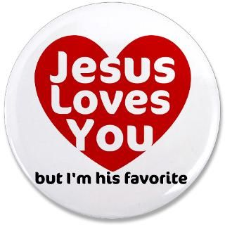 Jesus Loves You Button  Jesus Loves You Buttons, Pins, & Badges