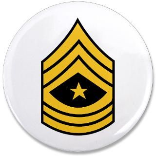 Army Gifts  Army Buttons  Army   Sergeant Major   Rank 3.5