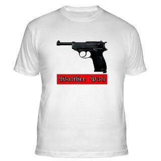 Walther P 38 hand gun pistol Shirt
