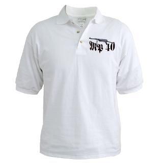 MP 40 Sub Machine Gun Golf Shirt