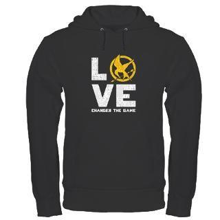 Hunger Games Love Changes The Game Hoodies & Hooded Sweatshirts  Buy