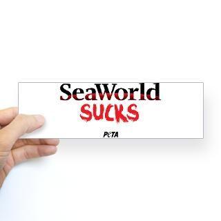 SeaWorld Sucks Sticker (Bumper)