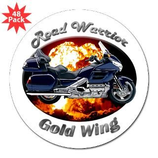 Honda Gold Wing 3 Inch Lapel Sticker (48 pk) for $30.00