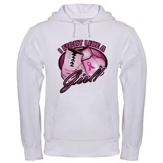 Fight Like A Girl Boxing Gloves Hoodies & Hooded Sweatshirts  Buy