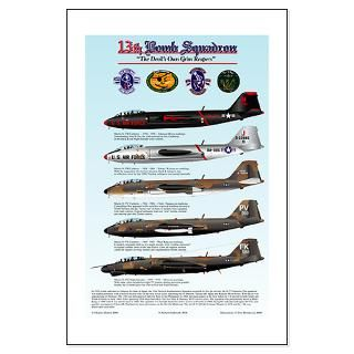 13th Bomb Squadron B 57 Large Framed Print
