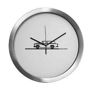 55 Chevy Station Wagon Clock  Buy 55 Chevy Station Wagon Clocks