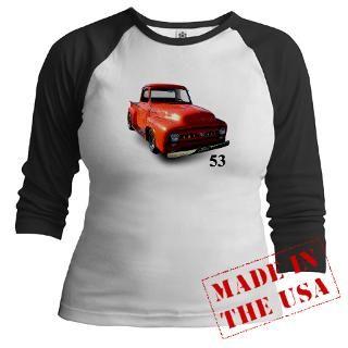 Classic 53 Ford F 100 Truck  Truck Tees