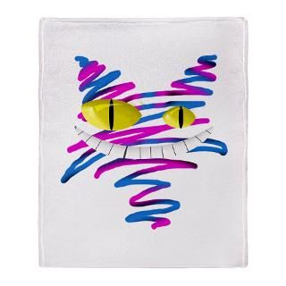 Silly Cheshire Cat Stadium Blanket for $59.50