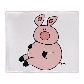 Cute Pig Stadium Blanket for $59.50