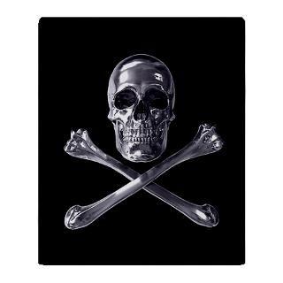 Jolly Roger Skull Blanket for $59.50