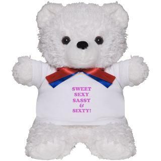 60 Gifts  60 Teddy Bears  Funny 60th Birthday Gifts Teddy Bear