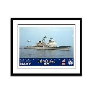 USS Vicksburg CG 69 Guided Missile Cruiser : USA NAVY PRIDE