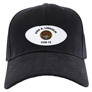 USS Abraham Lincoln CVN 72 Black Cap for