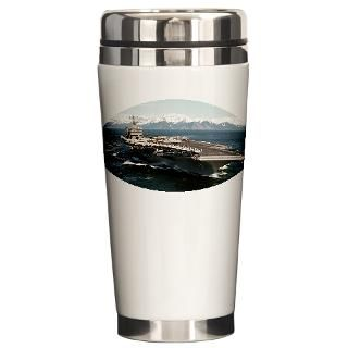 USS Abraham Lincoln CVN 72 Ship Travel Mug for $26.00