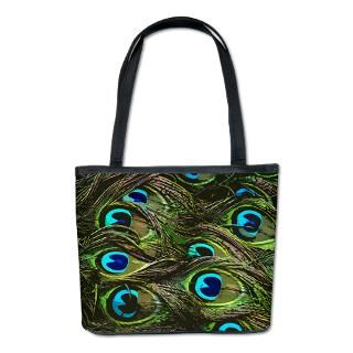 Peacock Feather Bags & Totes  Personalized Peacock Feather Bags