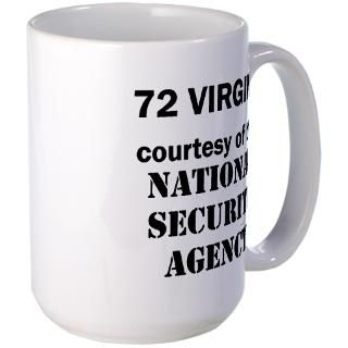 72 Virgins from National Security Agency Mug for $18.50