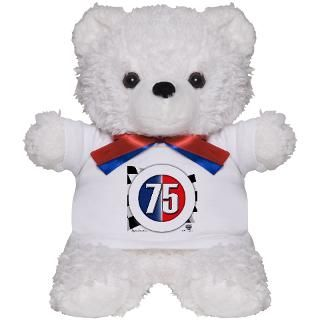 75 Cars Logo Teddy Bear for $18.00