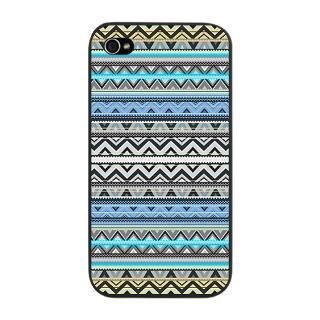 Mix #76 Double Size Blue Aztec iPhone Snap Case