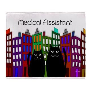 medical assistant tote CATS.PNG Stadium Blanket for $74.50