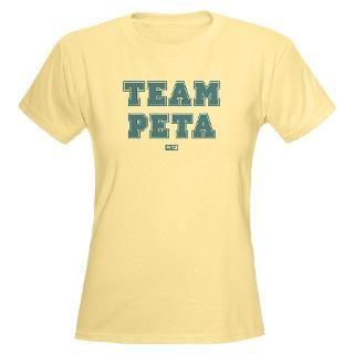 TEAM PETA Womens Light T Shirt