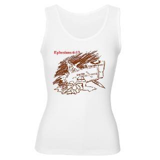 Gods Armor Womens Plus Size Scoop Neck T Shirt