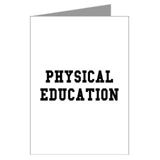 Physical Education Greeting Cards (Pk of 10)