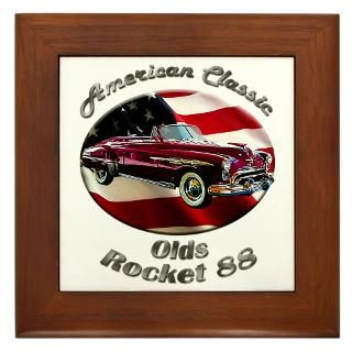 Oldsmobile Rocket 88 Framed Tile for $15.00