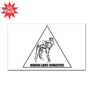 modern army combatives sticker rectangle 50 pk $ 93 09