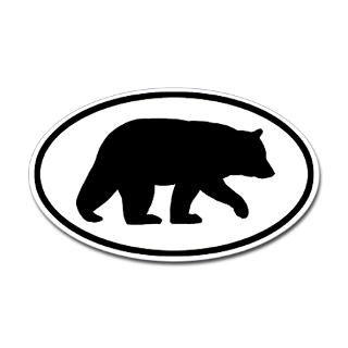 Black Bear Stickers  Car Bumper Stickers, Decals