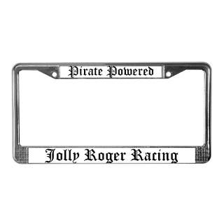 Jolly Roger License Plate Frame  Buy Jolly Roger Car License Plate