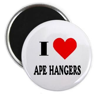 Love Ape Hangers! 2.25 Button (10 pack)