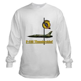 105 Thunderchief Long Sleeve T Shirt by peter_pan03