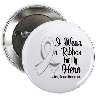 Wear a Ribbon For My Hero Lung Cancer Shirts : Shirts 4 Cancer