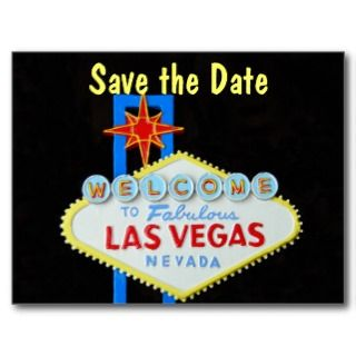 Casino Theme Wedding Invitation RSVP Postcards