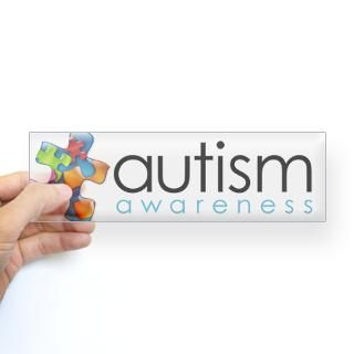 Autism Puzzle Piece Stickers  Car Bumper Stickers, Decals