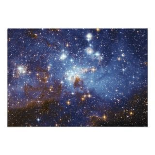 Milky Way Star Formation Stellar Nursery LH 95 Custom Invite