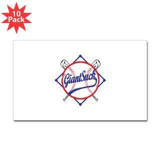 giants suck sticker rectangle 50 pk $ 113 99