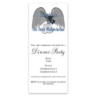 Air Force Christmas Invitations  Air Force Christmas Invitation