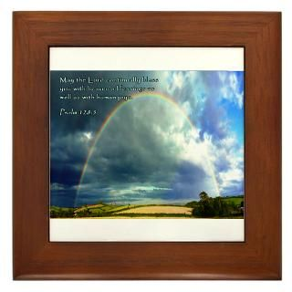 Psalm 1285 Framed Tile
