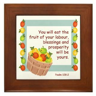 Bible Quotes Gifts  Bible Quotes Framed Tiles  Blessings Framed