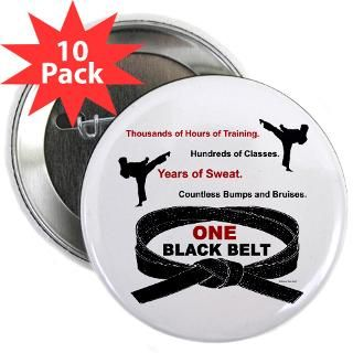 ONE Black Belt 2 Karate Shirts Gifts Merchandise  Unique Karate Gifts